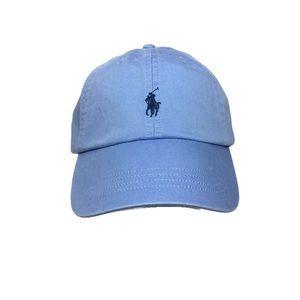 Polo Ralph Lauren Baseball Cap Hat Blue